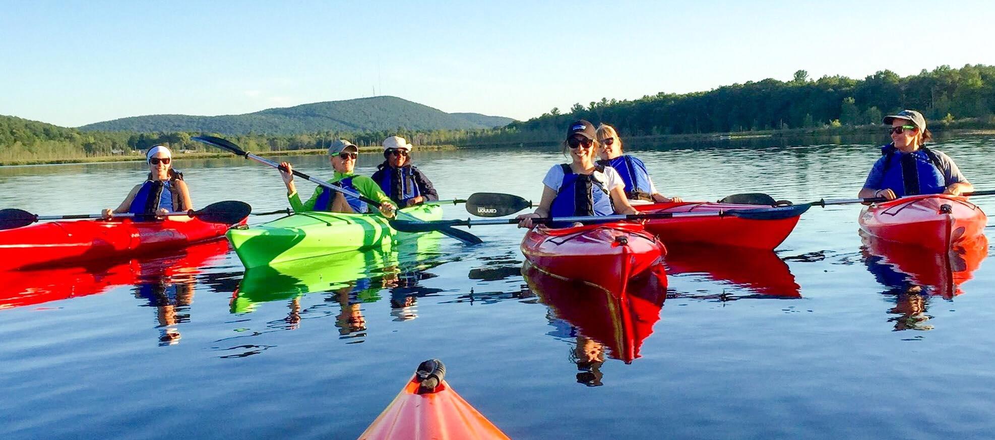 Rental Kayak Equipment